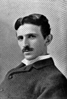 Photograph of Nikola Tesla